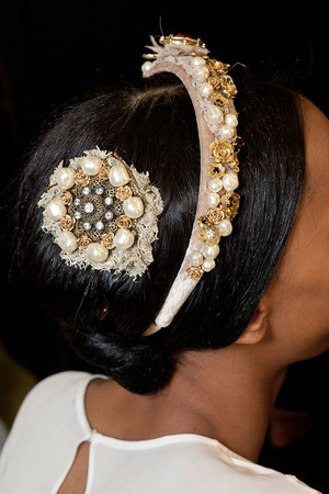 Показ Dolce & Gabbana коллекции сезона Осень-зима 2012-2013 года Prêt-à-porter - www.elle.ru - Подиум - фото 370373