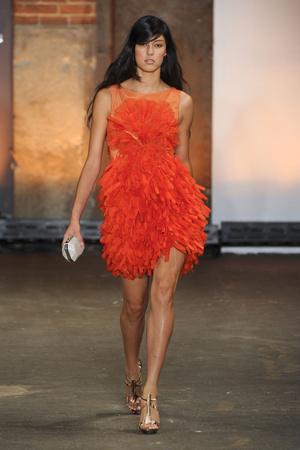 Показы мод Christian Siriano Весна-лето 2012 | Подиум на ELLE - Подиум - фото 2059