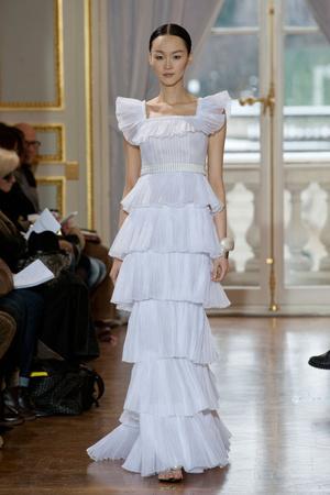 Показ Christophe Josse коллекции сезона Весна-лето 2013 года Haute couture - www.elle.ru - Подиум - фото 477033