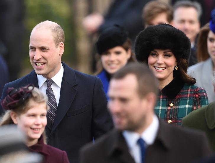 Меган Маркл и принц Гарри на рождественской службе (фото 5)