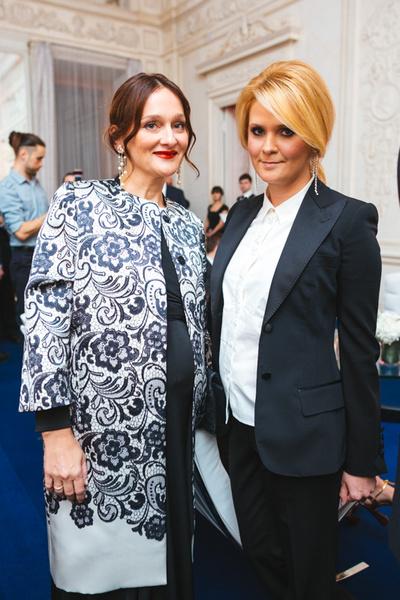 Елена Сотникова и Наталья Шкулева