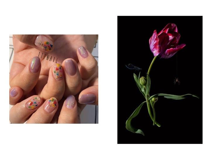 5 идей цветочного маникюра на весну (фото 9)