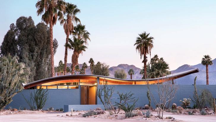 Модернистский дом-«волна» в Калифорнии (фото 0)