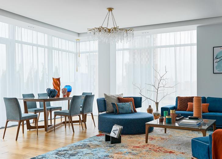 Яркая квартира 140 м² для семьи путешественников (фото 3)