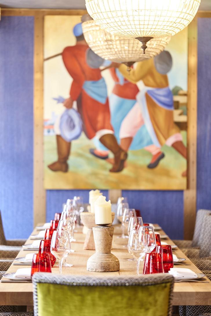 Ресторан OSH в Лондоне: проект Ирины Глик (фото 2)
