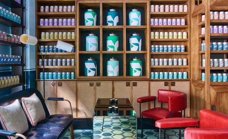 Чай и книги: бар Тильды Суинтон в Лондоне (фото 3)