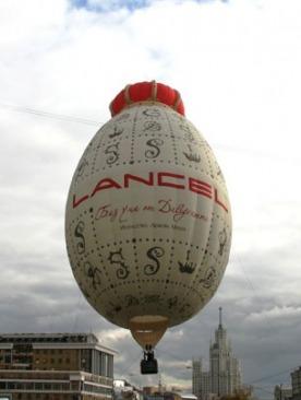Аэростат Lancel в Москве