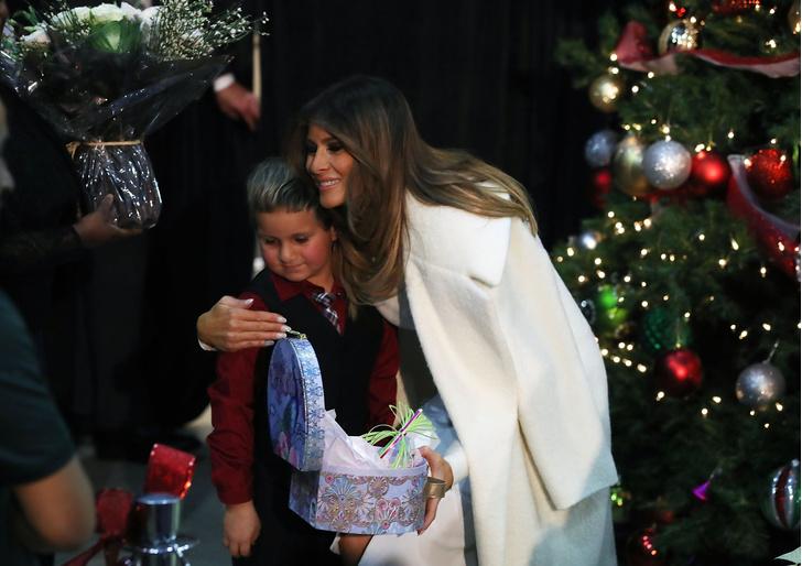 Как Мелания Трамп готовится к Рождеству (фото 4)