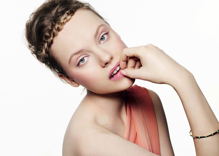 тренды весеннего макияжа 2014
