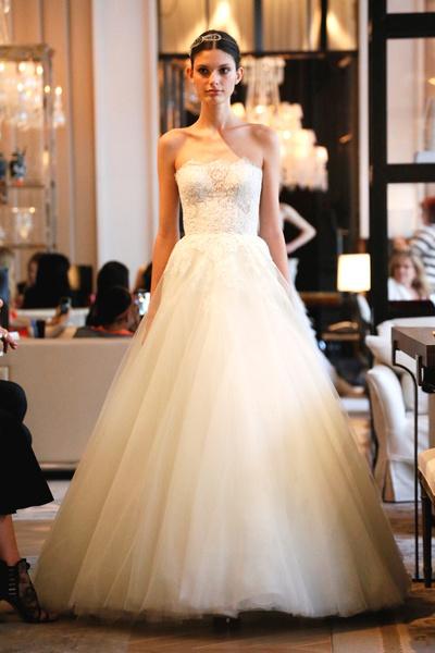 Пышные свадебные платья 2015 5