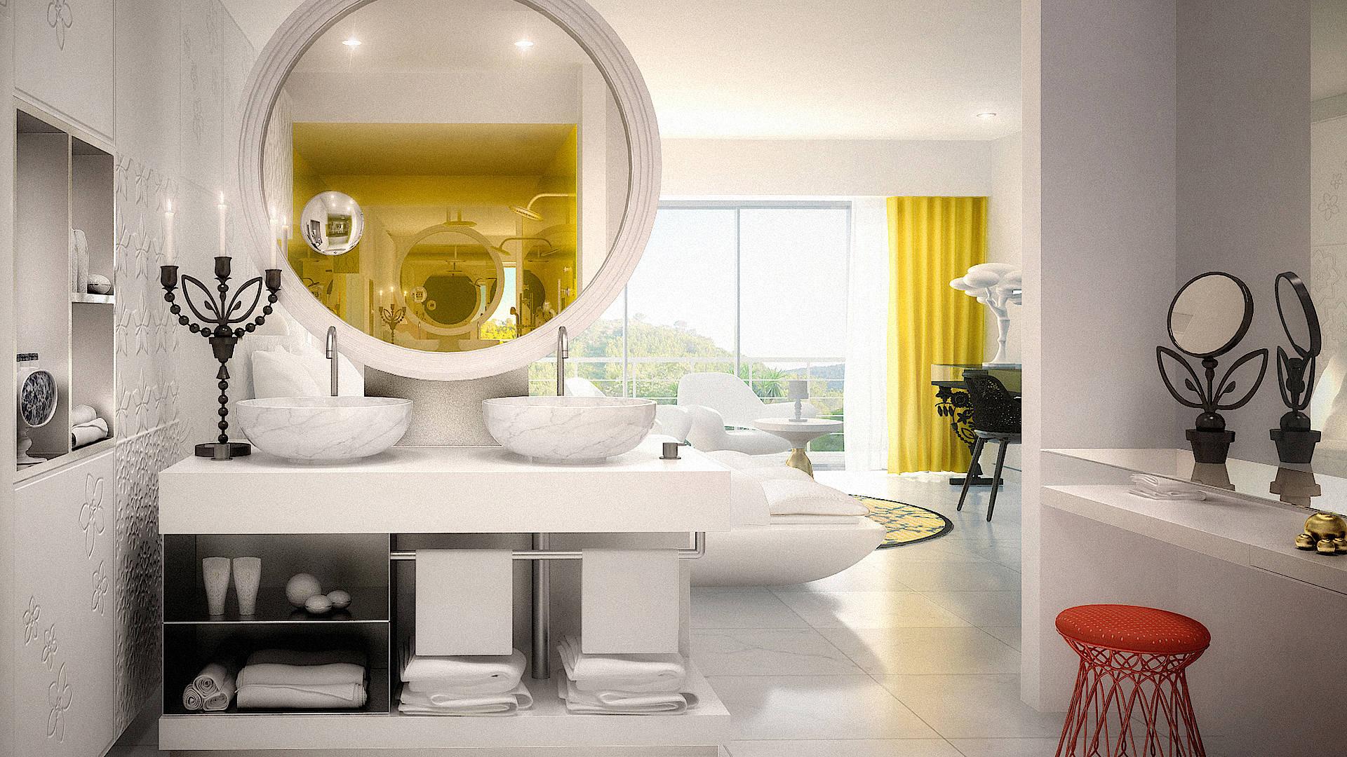 Марсель Вандерс оформил пятизвездочный отель на Майорке   галерея [1] фото [10]