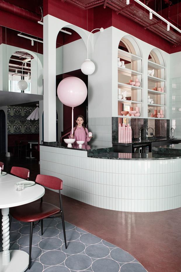 Яркий ресторан Cinnamon в Дублине (фото 7)