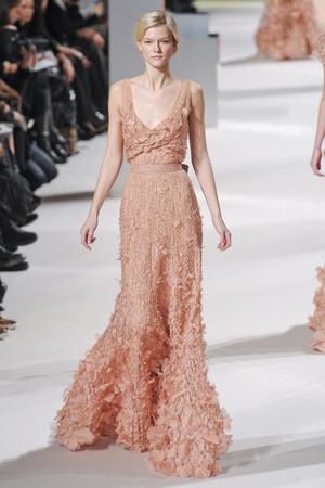 Показ Elie Saab коллекции сезона Весна-лето 2011 года Haute couture - www.elle.ru - Подиум - фото 216811