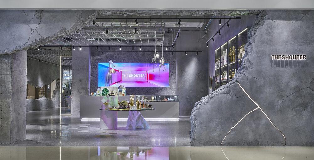 Индустриальный шик: дизан-бутик Shouter в Шанхае (галерея 13, фото 2)