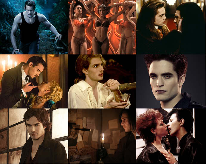 Самые сексуальные вампиры в кино такого