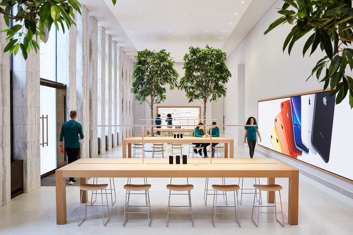 Новый Apple Store по проекту Foster + Partners в Вашингтоне (фото 6)