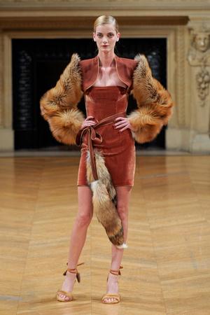 Показы мод Alexis Mabille Осень-зима 2011-2012 | Подиум на ELLE - Подиум - фото 2107