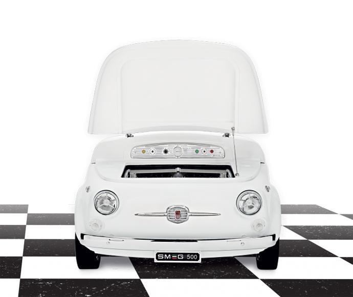 Smeg, бытовая техника, Fiat500, дизайн