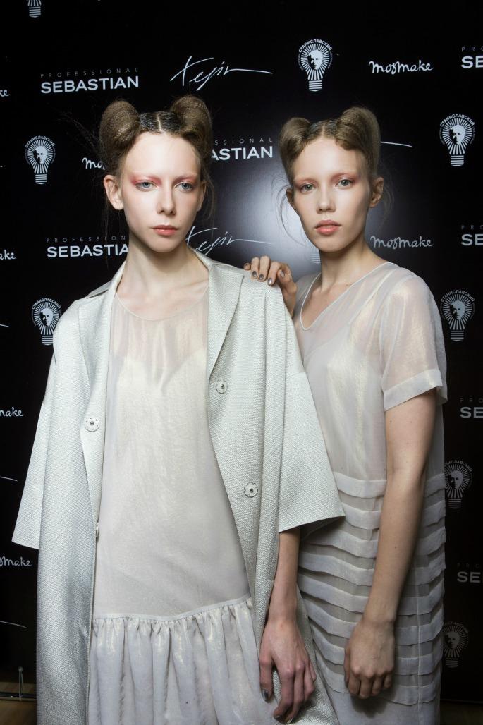 Sebastian выступил бьюти-партнером на показе Tegin Fashion House