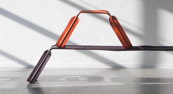 Датский дизайнер выпустил сборную как палатку мебель
