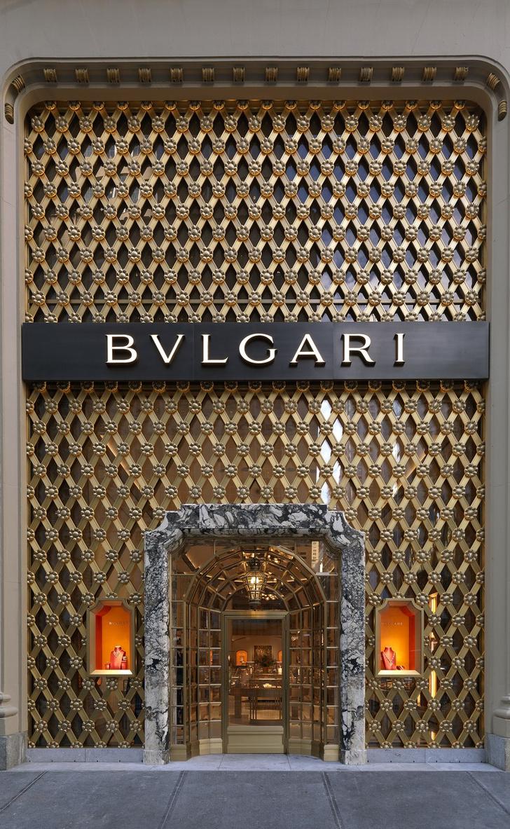 Питер Марино переосмыслил бутик Bvlgari в Нью-Йорке (фото 1)