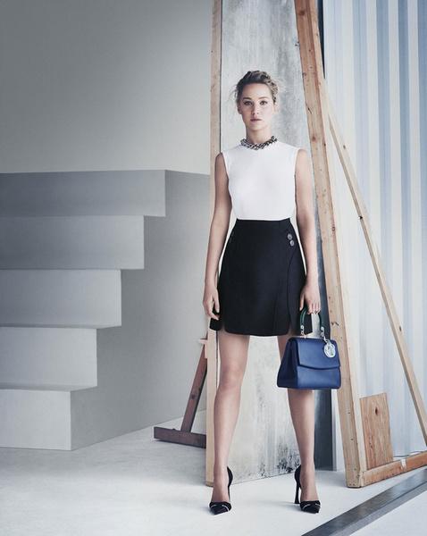 Дженнифер Лоуренс в рекламе сумок Be Dior | галерея [1] фото [2]