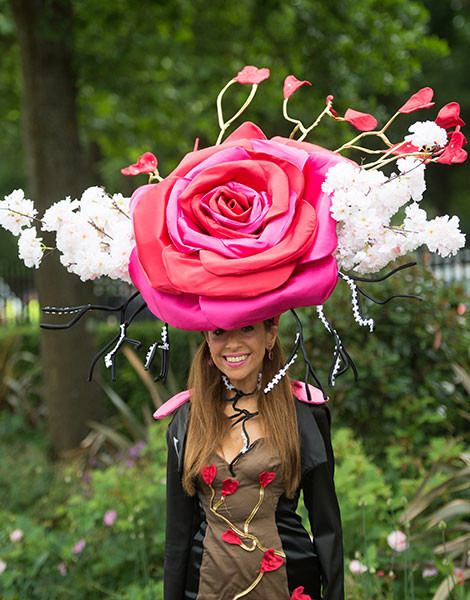 Королевские скачки в Аскоте: парад шляп | галерея [1] фото [11]
