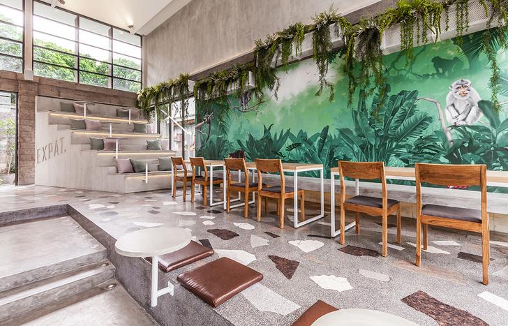 Лаундж-кафе Full Circle Café на Бали (фото 0)