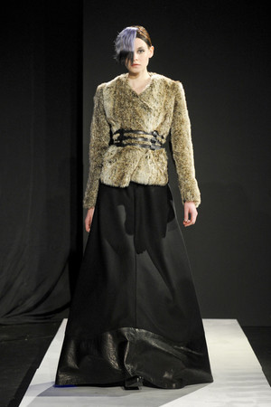Показ Mandy Coon коллекции сезона Осень-зима 2011-2012 года prêt-à-porter - www.elle.ru - Подиум - фото 227471