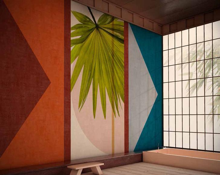 Панорамные обои в ванной. Модный декор для самой влажной комнаты (фото 7)