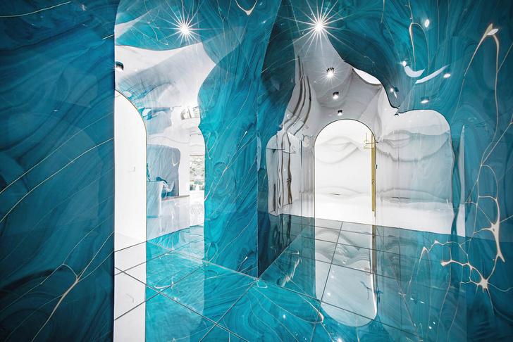 В пещере горного короля: салон красоты в Китае (фото 6)