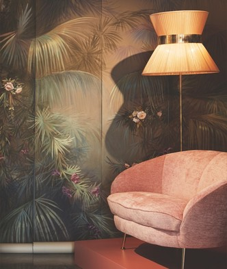 Ремесло и дизайн: Stranger Pinks в интерьерах виллы Джо Понти (фото 0.2)