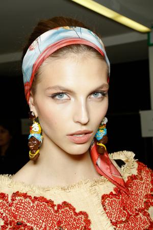 Показ Dolce & Gabbana коллекции сезона Весна-лето 2013 года Prêt-à-porter - www.elle.ru - Подиум - фото 445236