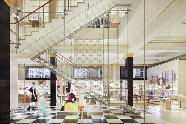Питер Марино оформил новый флагман Louis Vuitton в Сиднее (фото 5)