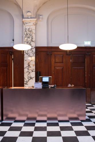 Шоурум Paustian в здании банка XIX века в Копенгагене (фото 3.2)