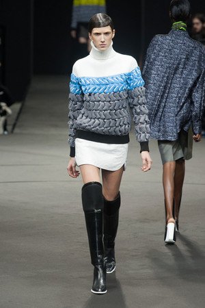 Показы мод Alexander Wang Осень-зима 2014-2015 | Подиум на ELLE - Подиум - фото 3817