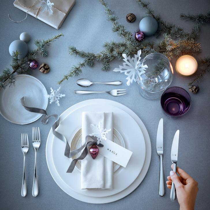 Рождественская сервировка: советы флориста и декоратора (фото 21)