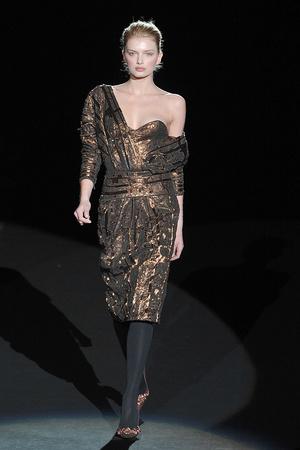 Показ Carolina Herrera коллекции сезона Осень-зима 2009-2010 года prêt-à-porter - www.elle.ru - Подиум - фото 89354