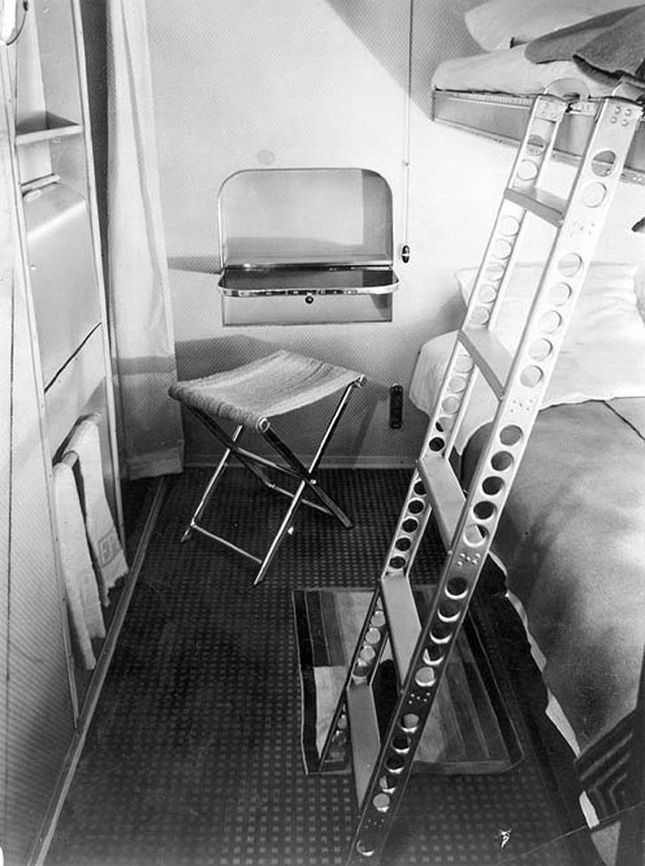 Интерьеры дирижабля «Гинденбург» (фото 15)