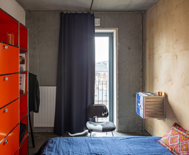 Бетонная квартира 55 м² архитектора Пшемо Лукашика в Варшаве (фото 13)