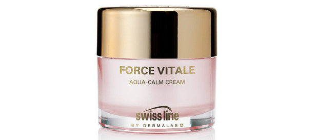 Успокаивающий увлажняющий крем для чувствительной кожи Force Vitale Aqua-Calm Cream от Swiss Line