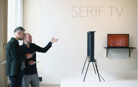 Телевизор Samsung Serif TV от Ронана и Эрвина Буруллеков | галерея [1] фото [1]