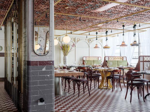 Ресторан Buro в ЦУМе: проект NB Studio (фото 9)