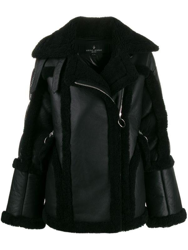 Кожаная куртка с мехом — лучшая покупка ноября (фото 12)