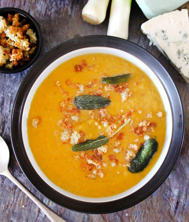 Классический тыквенный крем-суп