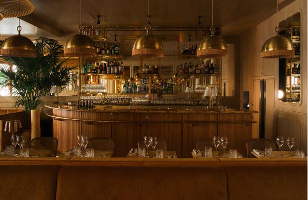 Ресторан Nolinski в стиле ар-деко (фото 10)