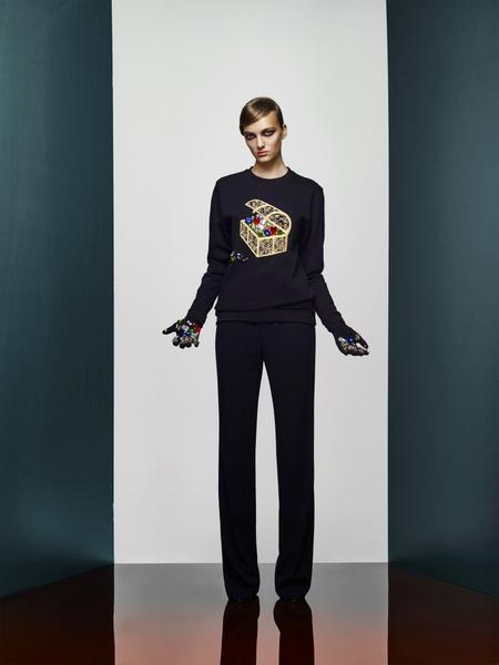 Хозяйка Медной горы: новая pre-fall коллекция A LA RUSSE Anastasia Romantsova   галерея [2] фото [31]
