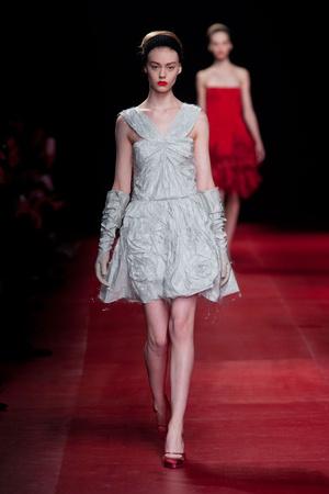 Показы мод Nina Ricci Осень-зима 2013-2014 | Подиум на ELLE - Подиум - фото 642