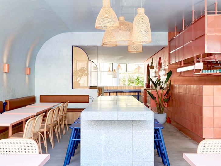 Все оттенки терракоты: ресторан в Сиднее (фото 0)