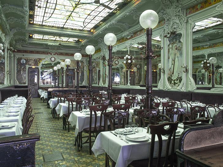 Designer John Whelan Restores France's Classic Brasseries to Their Former Glory (фото 0)